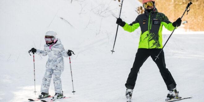 Cât de sigură este o școală de schi pentru copii?